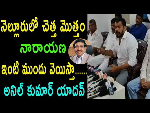 YSRCP MLA Anil Kumar Yadav Serious Comments On Minister Narayana TDP AP Govt | Cinema Politics