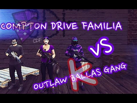 GTA 5   Compton Drive Familia Vs OutLaw Ballas Gang