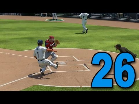 MLB 16 Road to The Show - Part 26 - PLAY AT THE PLATE! (Playstation 4 Gameplay)