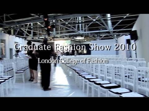 倫敦時尚學院服裝設計畢業秀 2010 (london college of fashion graduate fashion show 2010)