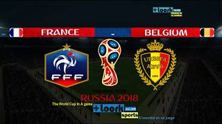 FRANCE vs BELGIUM 1-0 |Goals and Highlights| Semi-Final | FIFA World Cup Russia 2018