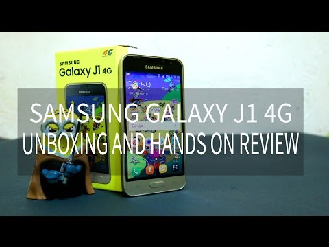 Samsung Galaxy J1 4G Unboxing And Hands On Hindi | Samsung Galaxy J1 2017|