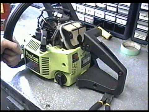 Teardown of POULAN 2900 Chainsaw
