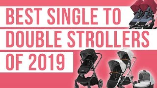 Best Single to Double Strollers 2019 ( Nuna Demi Grow | UPPAbaby Vista | Bugaboo Donkey | Coast )