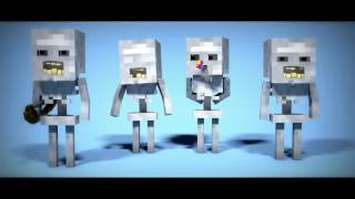 !!!🍍🍍Minions Minecraft Animation🍍🍍!!!Original Song 🔊🔊2016