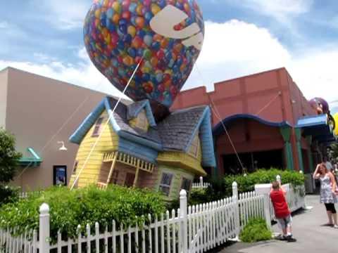 Pixar S Up Inflatable House Downtown Disney Lake Buena