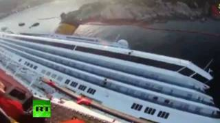 Rescue team video_ Search for Costa Concordia survivors
