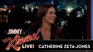Catherine Zeta-Jones on Being Very Pregnant When Winning an Oscar