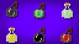 Minecraft - Potions+ in 1 command