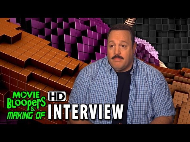 Pixels (2015) Behind the Scenes Movie Interview - Kevin James is 'Cooper'