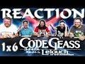 Code Geass 1x6 REACTION!!