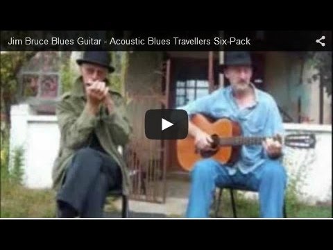 Blues Guitar Lessons - Brownie McGhee Blues Guitar Lessons - So Much Trouble - Cover