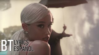 Ariana Grande - No Tears Left To Cry (Lyrics + Español) Video Official