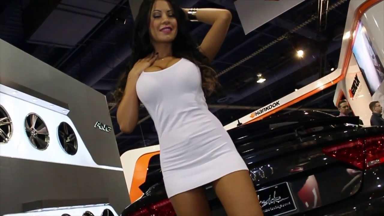 Auto show girl nude 11
