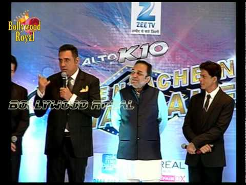 Shah Rukh Khan, &'HNY'Team at Launch PC of of Zee TV's 'Dil Se Naachein Indiawaale' 2