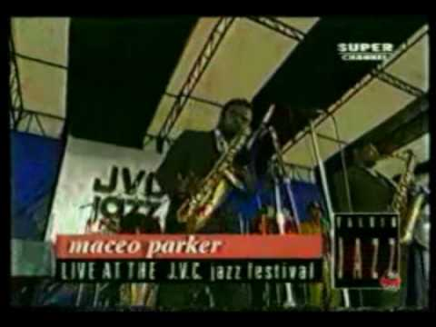Maceo Parker-Fred Wesley-Pee Wee Ellis et al - Live performance and Interview 1993 (1 of 3)