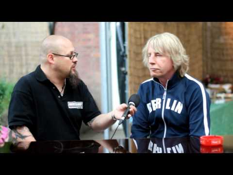 Rick Parfitt - Status Quo - grüßt Café Größenwahn