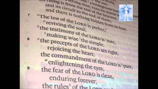 5 22 Psalm 19 7 11 The Law of the Lord is Perfect