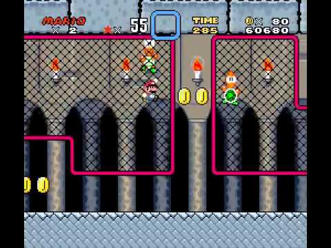Super Mario World - Super Mario World High Score Attempt (SNES) - Vizzed.com Play - User video