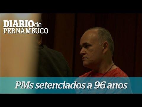 PMs s�o setenciados 96 anos de reclus�o