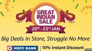 Amazon Great India Sale, OnePlus 7, Apple HomePod, Amazon Offering Rs.1,000 Cashback, Tech Prime #