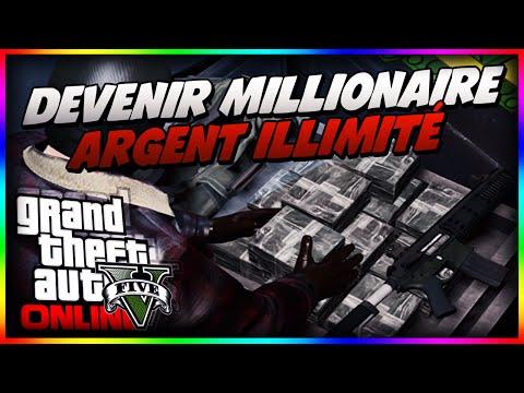 Devenir millionaire sur GTA 5 Online !! 20 000$/min