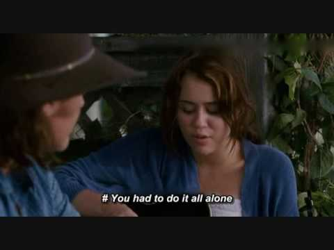 OST : Hannah Montana the Movie - Butterfly Fly Away [Movie Scene with Lyris]