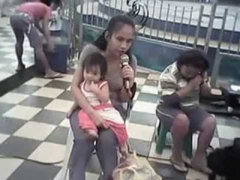 Filipina Blind Singer