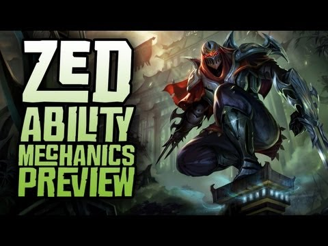Zed Ability Mechanics Preview