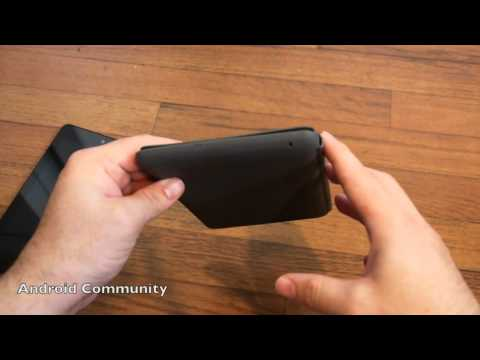 Official Google Nexus 7 Case hands-on