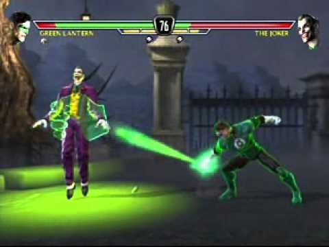 MK vs DC Universe Green Lantern Gameplay Part 1 Music Videos