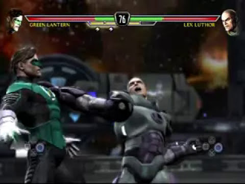 MK vs DC Universe Green Lantern Gameplay Part 1