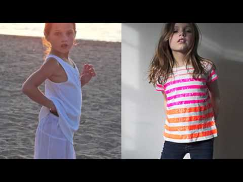 Future Faces Nyc -top Child Model Nina Lubarda Model Management video