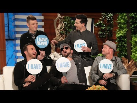 Backstreet Boys Play 'Never Have I Ever'