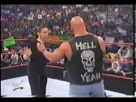 Stone Cold Steve Austin & Stephanie Mcmahon Segment Wwf Raw video