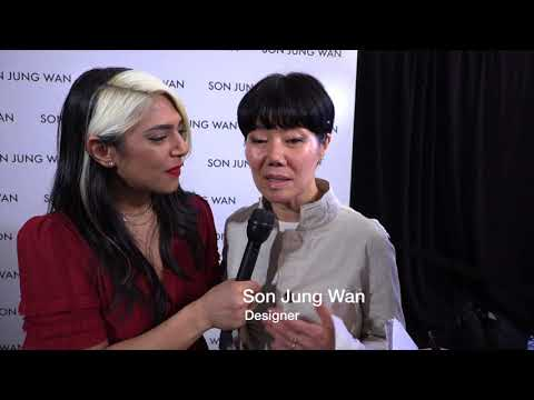 Son Jung Wan Designer Interview and Runway