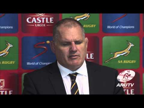 Wallabies 2014: Springboks v Wallabies post match | Rugby Championship - Wallabies 2014: Springboks