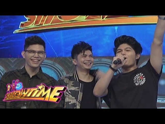 It's Showtime: Bruno and Yce visit Vhong Navarro on It's Showtime!