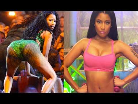 Nicki Minaj ANACONDA Sexy Booty Shaking Video: Pre-MTV VMAs 2014 Peek