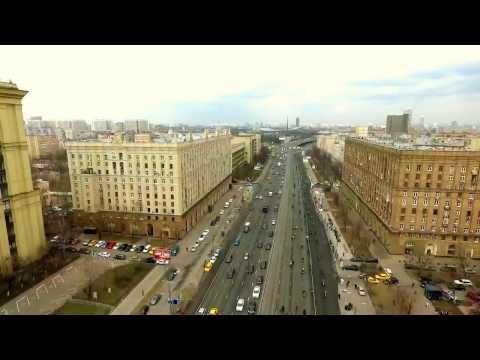 Проход колонны МотоМосква по пр.Мира 22 апреля