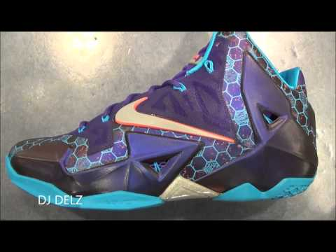Nike Lebron 11 Summit Lake Hornets Sneaker Review With @DjDelz Dj Delz