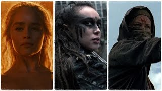 Multifandom - I Am The Fire (Daenerys, Lexa, Carol)