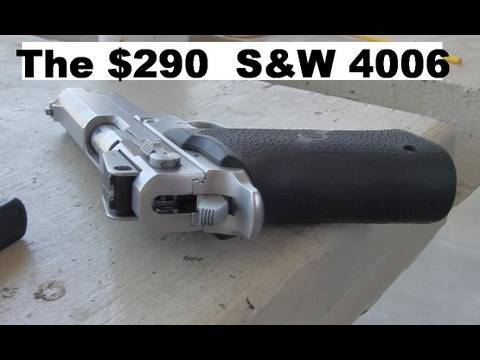S&W 4006 Tactical .40 Cal - Slow Motion