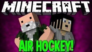 Minecraft: MC Air Hockey! w/ Gizzy Gazza