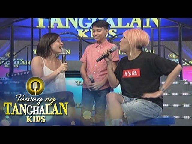Tawag ng Tanghalan Kids: Vice brags his scholarship to Anne