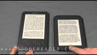 Amazon Kindle and Nook Simple Touch Reader Comparison
