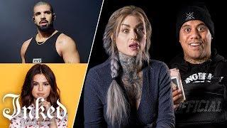 Tattoo Artists Guess Celebrity Tattoos   Tattoo Artists Answer