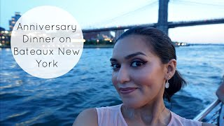 Anniversary Dinner on the Bateaux New York