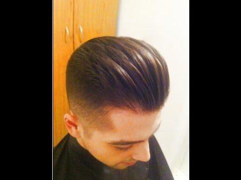 Pompadour haircut 2018 men
