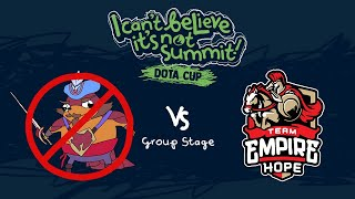 NoPangolier vs Empire Hope Game 2 - I Can't Believe It's Not Summit! - Group Stage